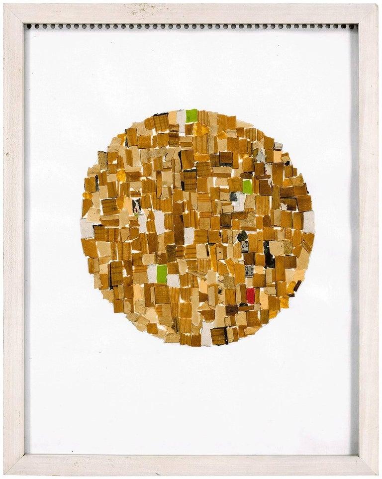 Mixed Media Abstract Collage  - Mixed Media Art by Alejandra Icaza