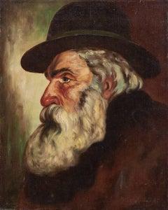 Portrait Of Polish Jewish Rabbi Gentleman