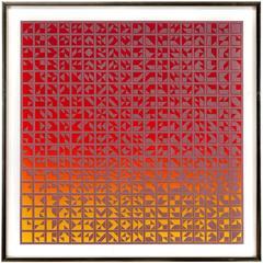 Abstract Op Art Print
