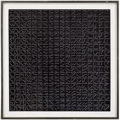 Untitled, Abstract Op Art Print