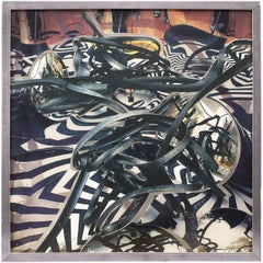 Frank Stella's Assistant Large Scale Print on Plexiglass