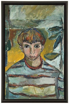 Modernist Portrait of a Boy
