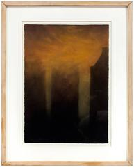 The Fog On New York, 1988 Pastel
