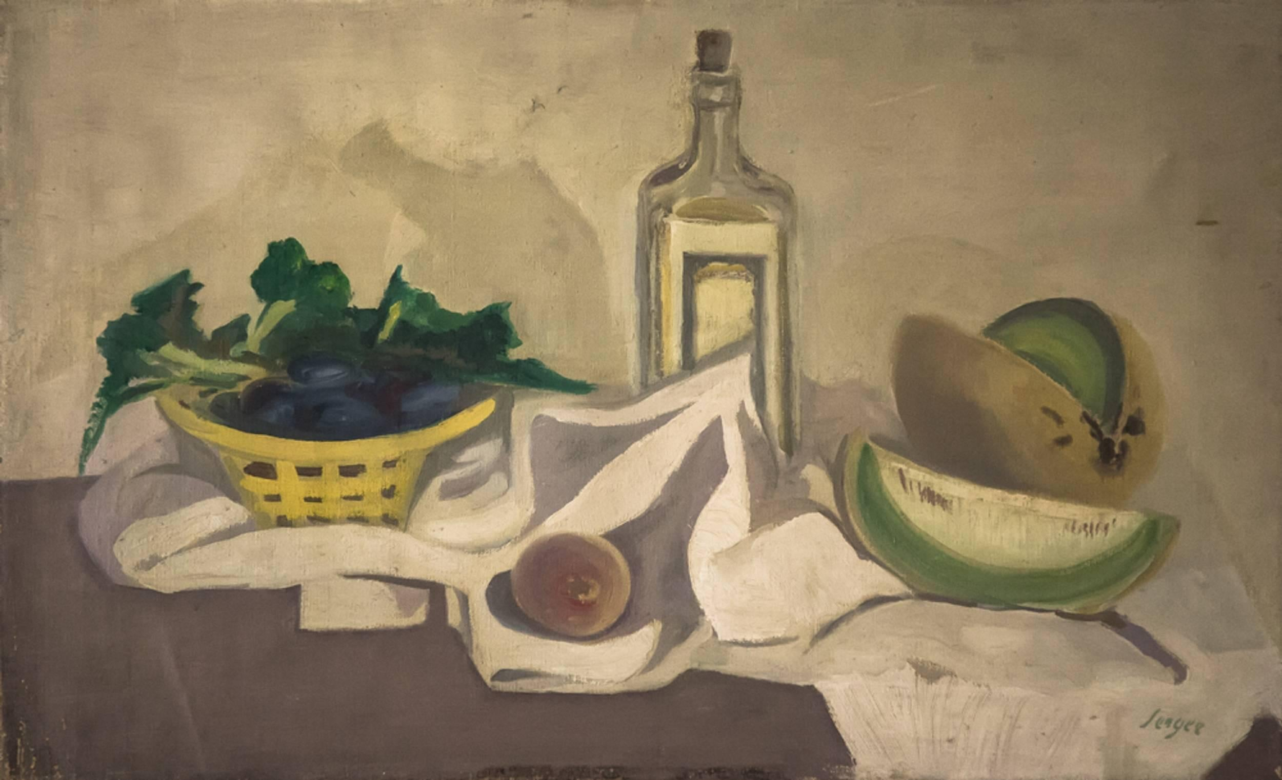 Still Life with Melons