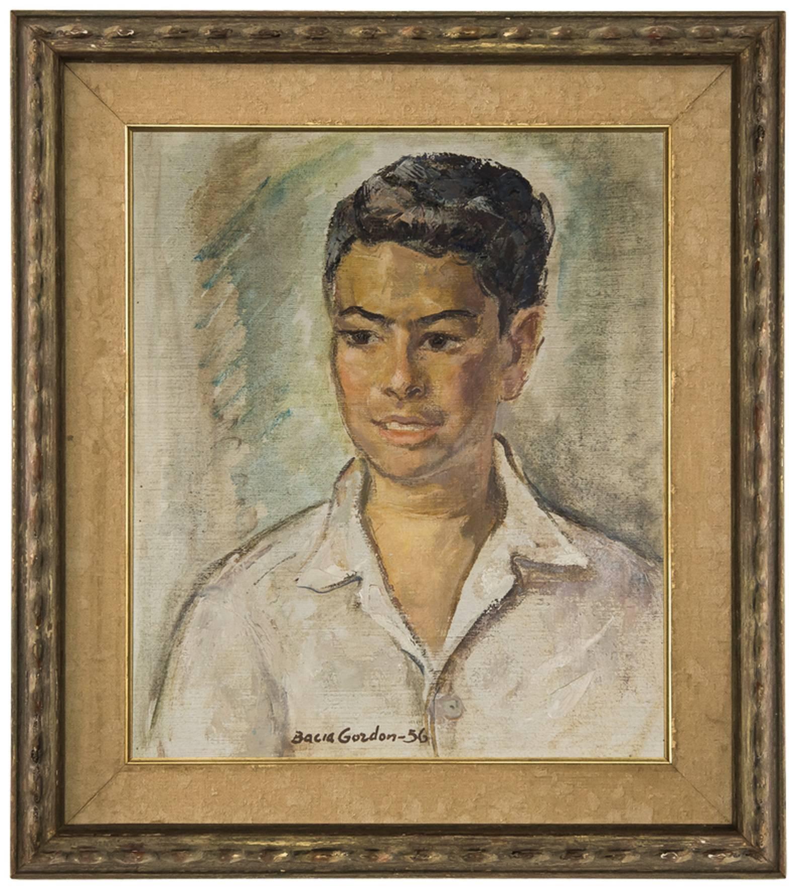 Portrait of an Israeli Boy