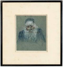 Elderly Rabbi Portrait