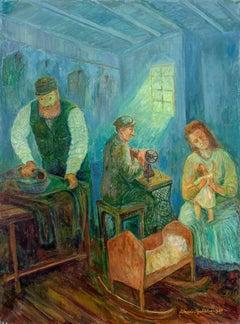 The Tailor, Shtetl Family at Work