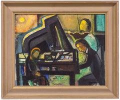 Modernist Piano Player, Music Recital