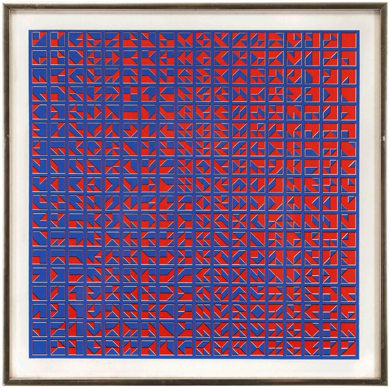 Anni Albers - Untitled, Abstract Op Art Print 1
