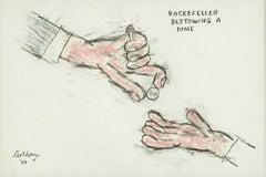 Rockefeller Bestowing a Dime
