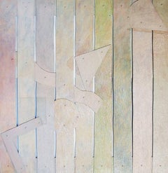 BOLDEN, 1973 Very Large Constructed Mixed Media Painting, Wall Sculpture