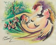 Adam and Eve in the Garden of Eden (The Apple)