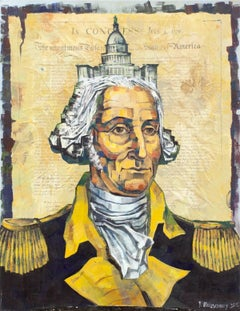 Untitled (George Washington, The Capitol and The Constitution)
