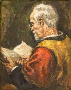 Untitled German Impressionist (Distinguished Jurist)