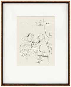 UNTITLED (MAN AND WOMAN DRINKING)