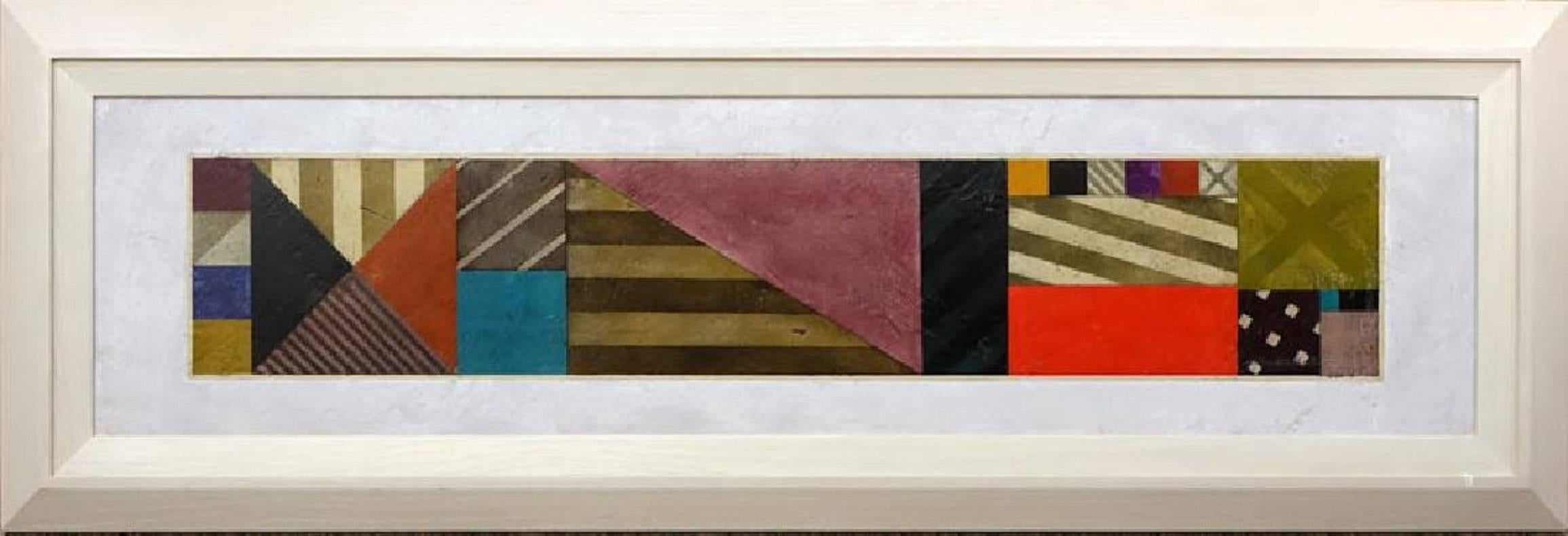 Large Modernist Abstract Painting (1of 2 available)