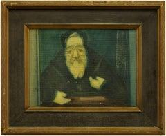 Rabbi in Study