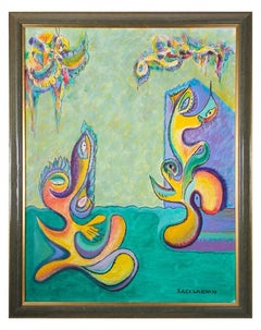 Abstract Bimorphic Composition 1970s