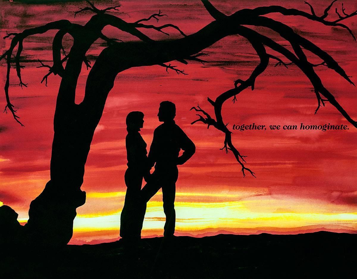 Together, We Can Homoginate