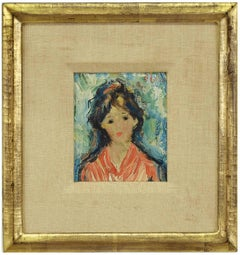 Young Woman, Impressionist Painting