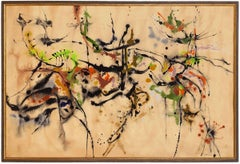 """Abstract Expressionist Painting 1959 """"Aspects Of Spring 2"""""""