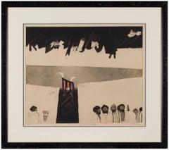 'JOSEPH AND HIS BRETHREN'  Modernist Judaica Aquatint Etching