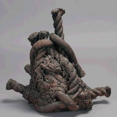 Fabric Rope Fiber Art Construction Sculpture