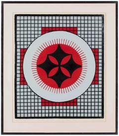 Herald, Abstract Geometric Modern Print