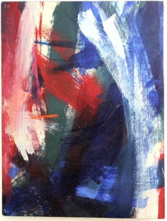 Abstract Expressionist Painting 'The Crimson Flare' 1961
