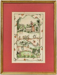 The Treasured Land, Judaica Folk Art