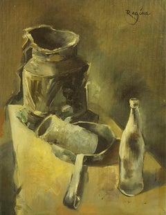 Modernist Still Life, Jewish Polish Artist