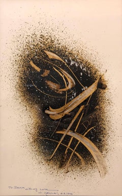 Modern Arab Abstract Islamic Calligraphy Modernist Painting