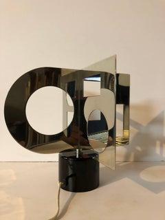 Motorized Kinetic Sculpture 'Minisculpture' Op Art Denise Rene Galerie Paris
