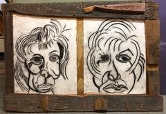Donna Librea, Mixed Media Wall Hanging Drawing