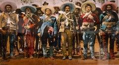 Vintage 1980s Pancho Villa, Texas Artist Large Format C-Print Color Photograph