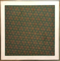 Op Art 1971 Kinetic Oil Painting Pop Art Artist