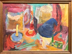 French Expressionist Still Life Fauvist Oil Painting Jewish Ecole de Paris