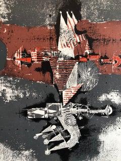 Large Johnny Friedlaender Poster Print No Text