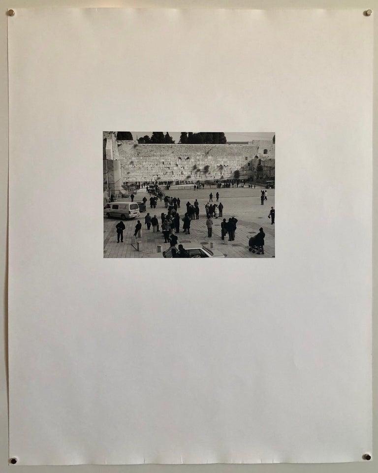 Jerusalem, Israel Western Wall Ed of 5 Vintage Silver gelatin Photograph Print For Sale 2