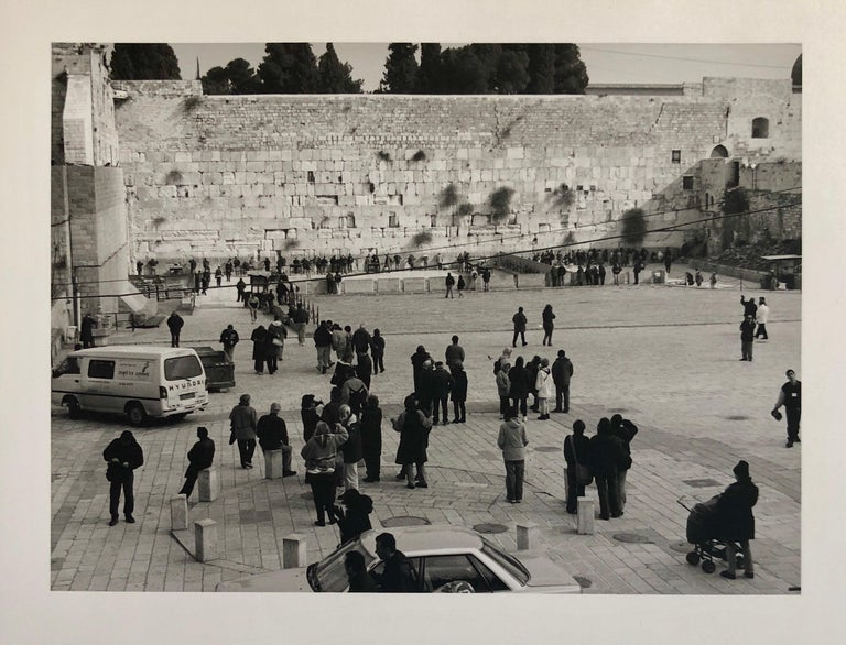 Mikael Levin Black and White Photograph - Jerusalem, Israel Western Wall Ed of 5 Vintage Silver gelatin Photograph Print