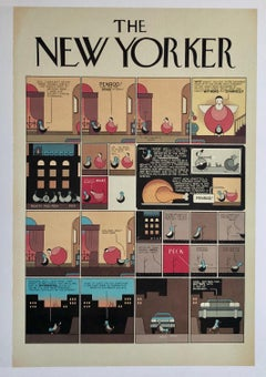 Chris Ware New Yorker Cartoonist Limited Edition Thanksgiving Print NYC