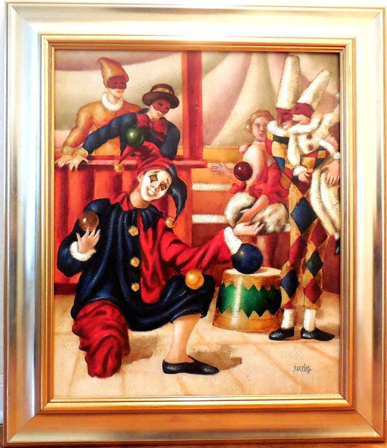 Jesters, Harlequins, Clowns