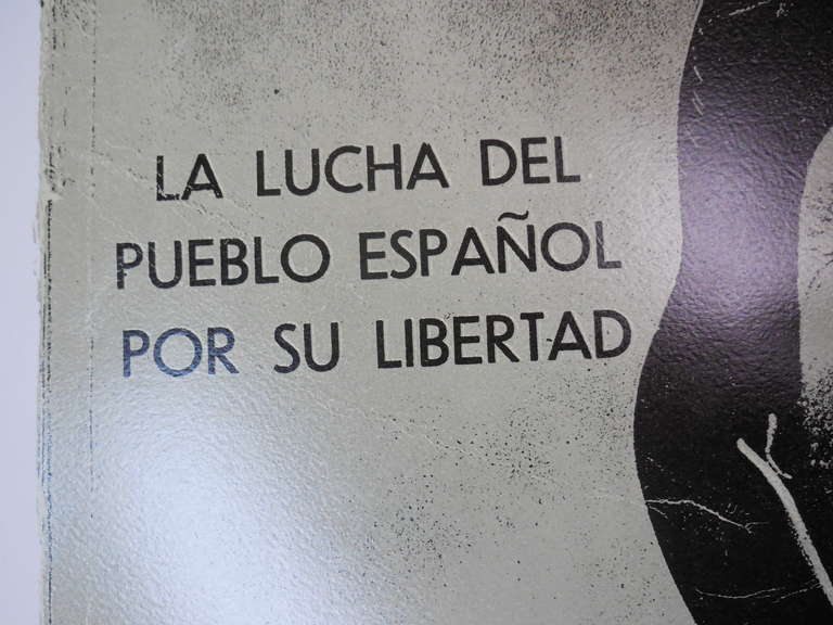 R.B.Kitaj LA LUCHA DEL PUEBLO ESPANOL POR SU LIBERTAD - Pop Art Print by Ronald Brooks Kitaj