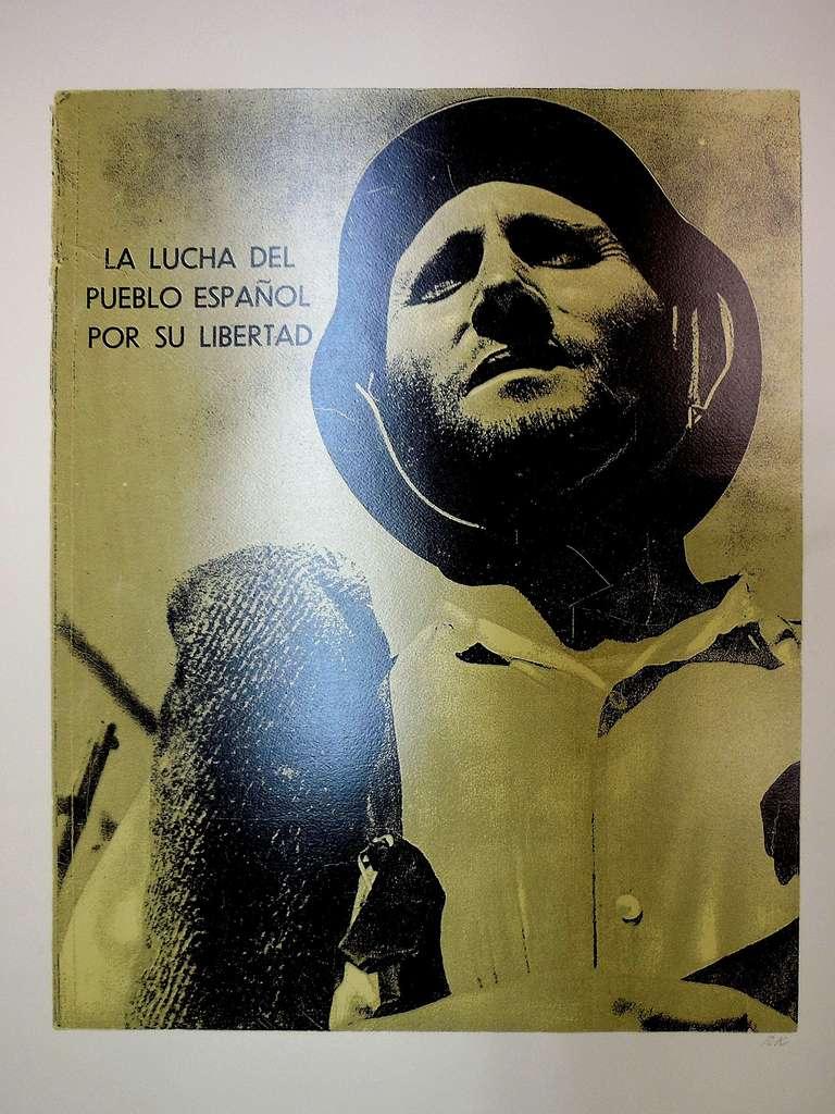 Ronald Brooks Kitaj Figurative Print - R.B.Kitaj LA LUCHA DEL PUEBLO ESPANOL POR SU LIBERTAD