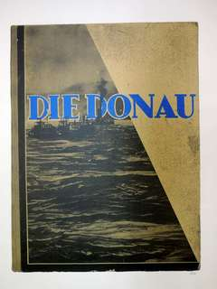 """R.B. Kitaj """"Die Donau"""" From In Our Time: Covers for a Small Library"""
