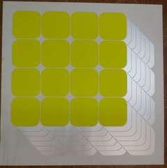 Op Art Print Silkscreen on Heavy Paper