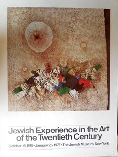 """""""Jewish Experience in the Art of the Twentieth Century"""" Vintage Poster"""