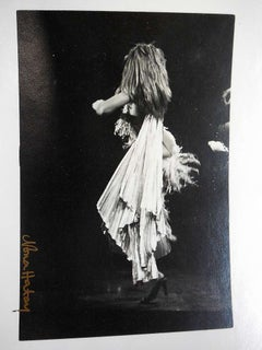 Vintage Silver Gelatin Print Tina Turner