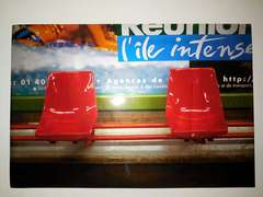 Metro Saint Sulpice red, Paris Metro Series (large)