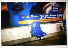 Metri Saint Placide, Blue. Paris metro series